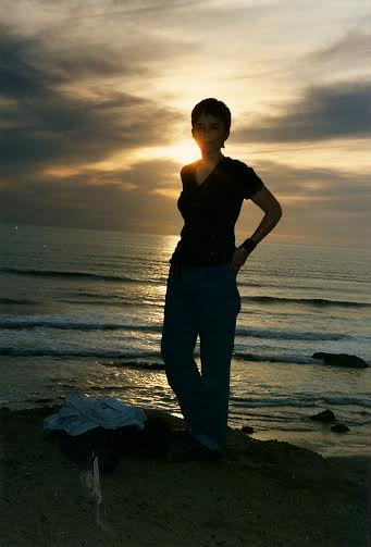 mercedes sunset